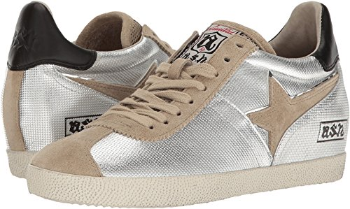 Ash Women's Guepard Ter Sneakers, Silver, 37 EU (7.5 B(M) US Women)