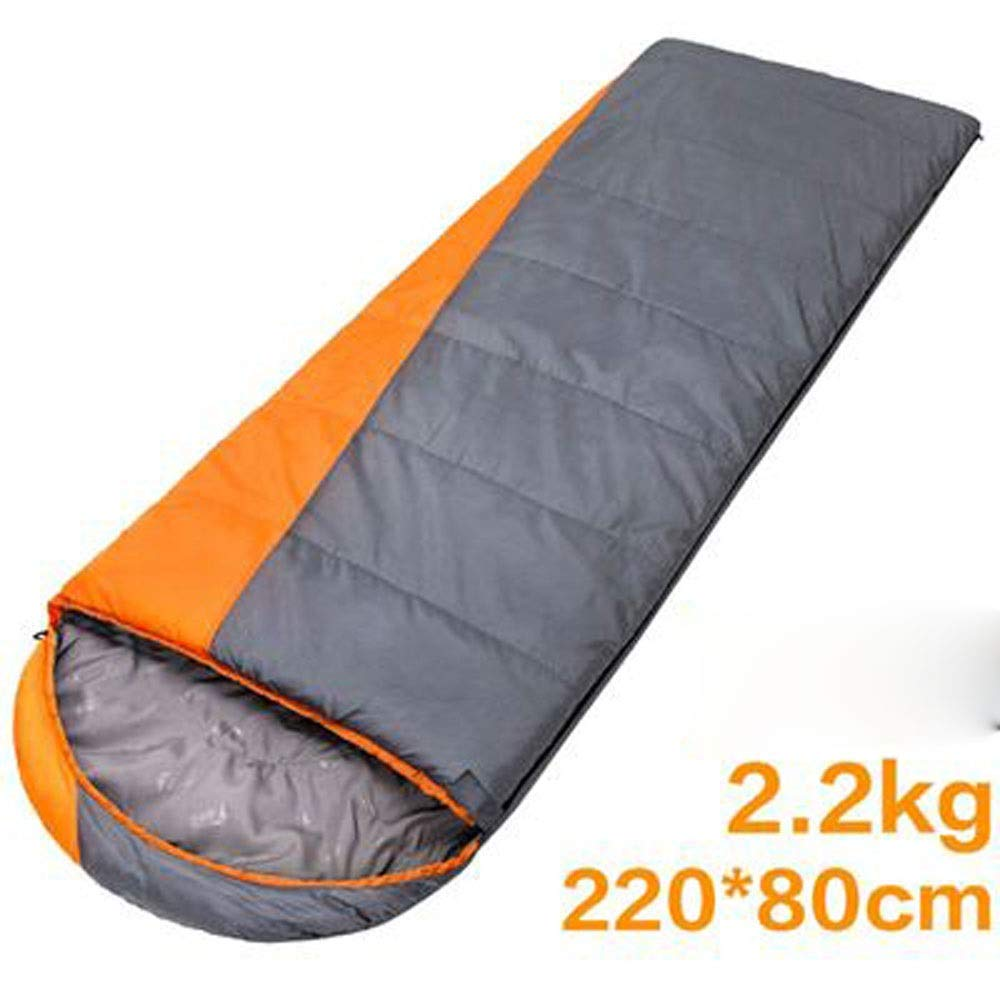 LEOO 34シーズンのキャンプ、ハイキング、旅行、バックパッキング、アウトドアアクティビティのための、圧縮袋付きの寝袋、封筒型ポータブル、および軽量 B07PLVJR4P Gray  Gray