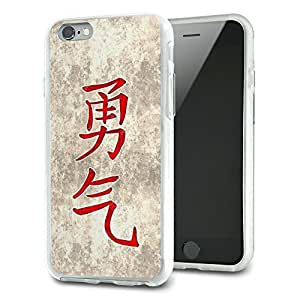 Chinese Symbol for Courage Slim Fit Hybrid Case Fits Apple iPhone 6