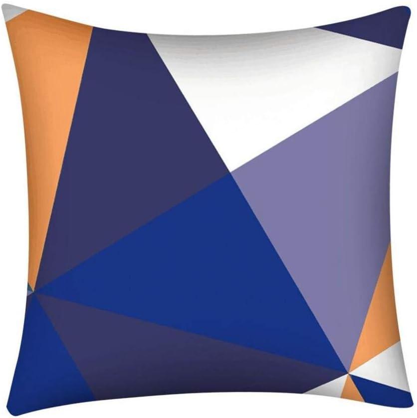 DXSERCV Fundas para Cojines Patchwork Patrón geométrico Funda de ...