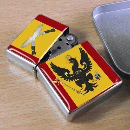 Crest Lighter (King's Royal Hussars - Flip Top Lighter by Family Crests)