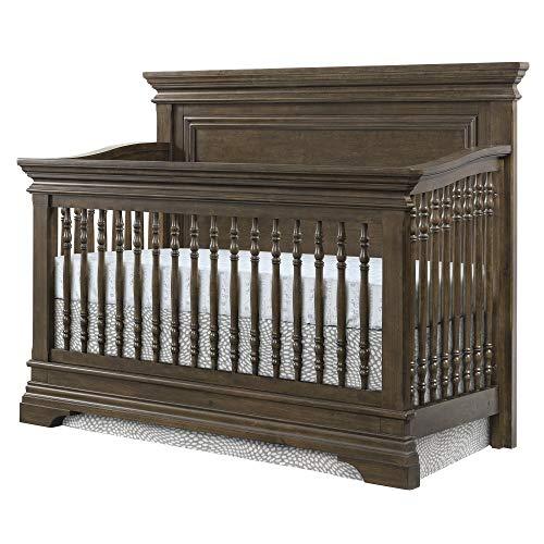 Westwood Design Olivia 4 in 1 Convertible Crib, Brushed Rosewood