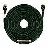 HDMI Cable,KAYO High Speed HDMI Cable (w/Signal Booster) Cord HDMI2.0b Supports Full 4K@60Hz, UHD, 3D, 2160p, Ethernet, ARC,(Latest Version) HDCP 2.2 Compliant-(100FT + Signal Booster)