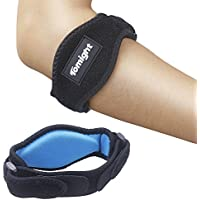 [2 Pack] Elbow Brace, Tomight Tennis Elbow Brace with Compression Pad for Both Men and Women