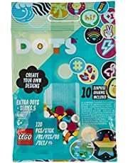 LEGO® DOTS Dodatki DOTS — seria 5 (41932) — zestaw do dekorowania; fajny prezent dla dzieci, które lubią kreatywne zabawy (120 elementów)