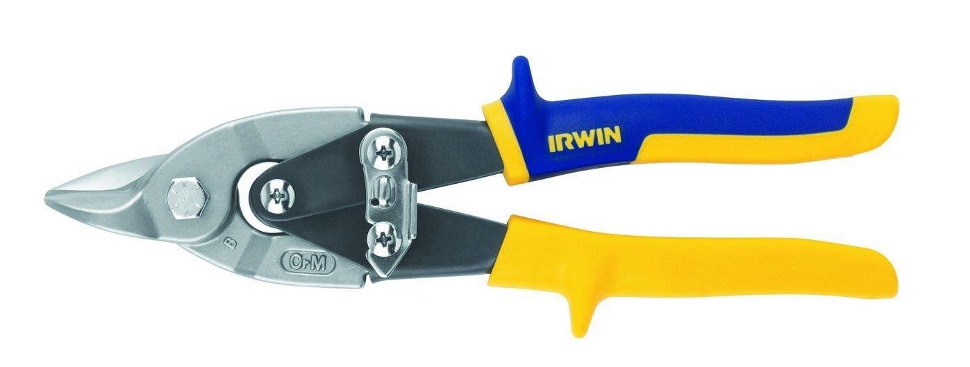 Irwin 7134070 10504313N Cisaille à tôle Aviation prosnip: Coupe Universelle-Cap. 1,9 mm, Bleu IRW10504313