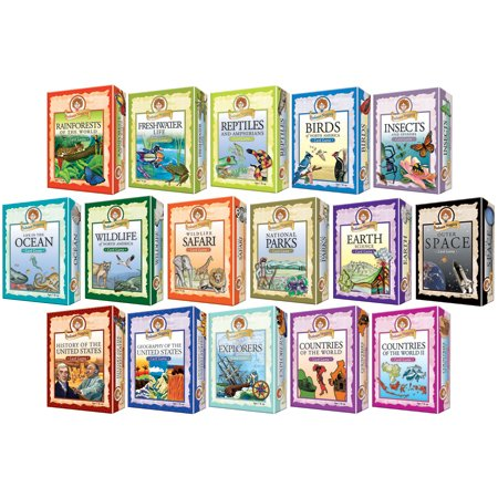 Outset Media 103503 Professor Noggin-Birds of NAmerica Card Game ()