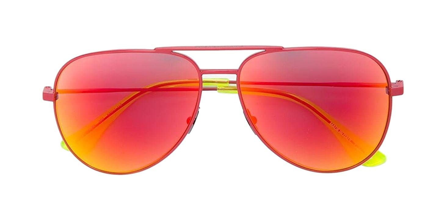 e0b36815f9272c Saint Laurent Classic 11 SURF 007 Sunglasses Red   Red at Amazon Women s  Clothing store