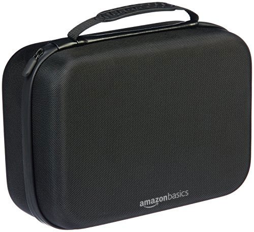 0c45a60709 AmazonBasics Travel and Storage Case for Nintendo Switch - Black
