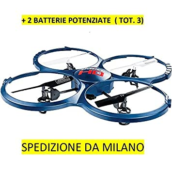 RC cuadricóptero - Dron Udirc U818 A-1 Discovery HD Upgrade + 2 ...