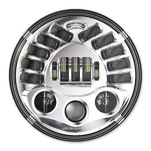 "J.W. Speaker 7"" LED Chrome Adaptive Headlight 551331"