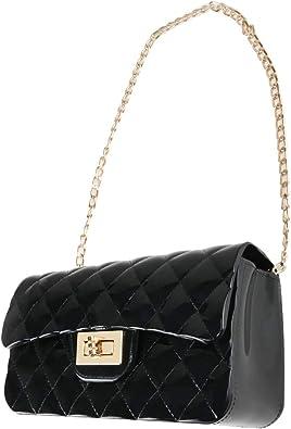 Summer Jelly Crossbody Bag Purse,Fashion Ladies Shoulder Bag, Candy Color Jelly Handbags, Crossbody Bag for Women Girls