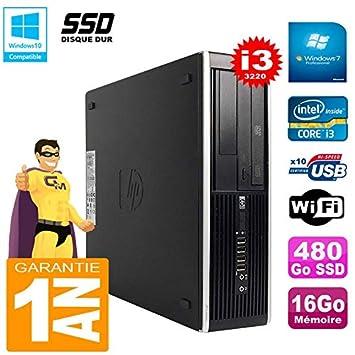 HP PC Compaq Pro 6300 SFF I3-3220 - Memoria RAM de 16 GB, Disco de ...