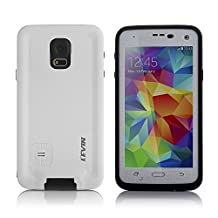 Levin™Waterproof Shockproof Shock Proof Snow Proof SnowProof DirtProof Dirt Proof Durable Full Protection Case Cover for Samsung Galaxy S5 (White)