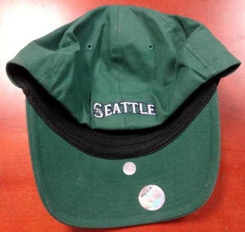 """Ichiro Suzuki Autographed Nike 2001 All Star Game Green Hat""""51"""" IS Holo 78915 Autographed Hats"""