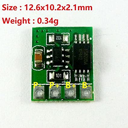 CENTIoT 3.7V 4.2V Overcurrent Protection Module with OverCharge and Discharge Short Circuit for UPS Mobile Power 18650 Lithium Battery Power Accessories at amazon