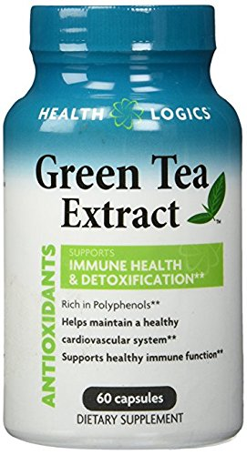 Health Logics Green Tea Extract Capsule, 60 Count