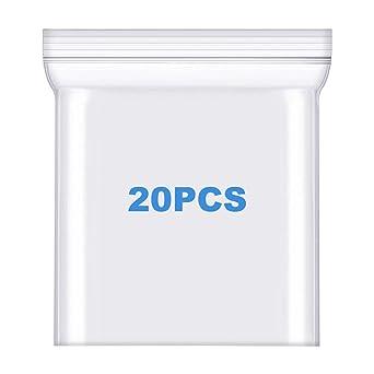 "1000//Case Reclosable 4/"" x 8/"" HEAVY-DUTY Zip 4-Mil Plastic Seal Lock Zipper Bags"