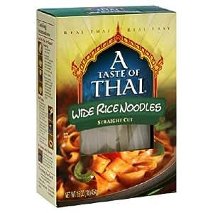 Taste Of Thai Noodle Rice Gf Xwide 16 Oz Pack of 6