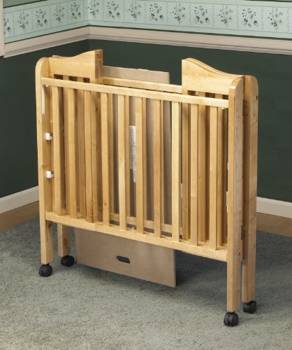 Orbelle Noa Three Level Portable Crib, Natural ()