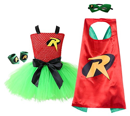 AQTOPS Kids Superhero Costumes for Christmas Party