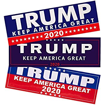 Trump Stickers for Election Day Parade Celebrations 8 Patterns-White Patriotic Election Stickers for Supporting President Six Senses Media 820Pcs Trump 2020 Stickers