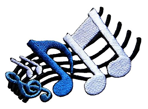 Music Embroidered Patches - 2