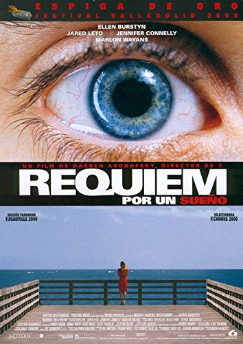 Requiem for a Dream 2000 Vintage Movie Poster 02