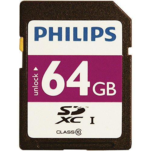 HOOFM64SD55B - PHILIPS FM64SD55B 27 64GB Class 10 SDXC(TM...