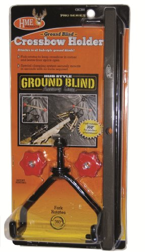 Review HME Products Ground Blind Cross Bow Holder