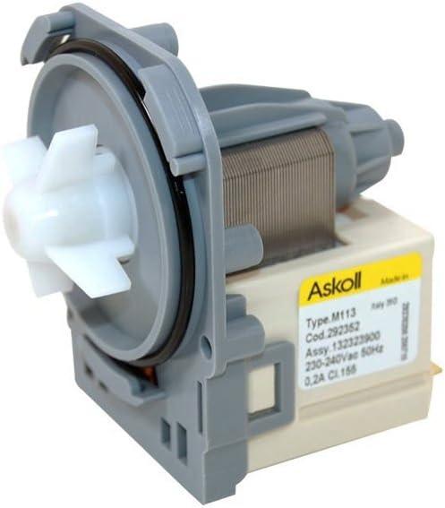 Véritable AEG Electrolux Zanussi MacHine À Laver Vidange Pompe 1326630009