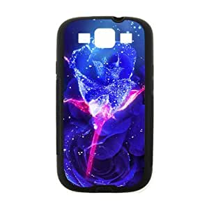 Beautiful Blue Rose Hot Fashion Design Case for Samsung Galaxy Note 3 (Laser Technology) Style 01
