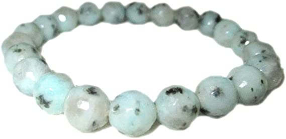 Energy Healing Crystals Gemstone Jewelry 8 inch AAA+ Quality Birthday Natural Rainbow Moonstone Chips Bracelet Gift for Her