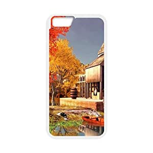 [Funny Series] IPhone 6 Plus Case City 75, Case Iphone 6 Plus Case 5.5 Okaycosama - White