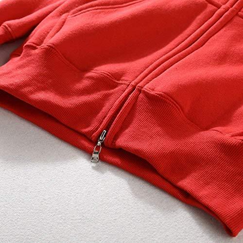Modernas Terciopelo Sudadera Rot De Más Bolsillo 3d Estampada Invierno Capucha Manga Completa Con Hombre Larga Para Otoño vraqv7Aw