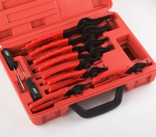 New Snap Ring Plier Set 11pc Mechanic PRO Circlips W/case Car Truck Motorcycle by Night Plaza (Image #1)