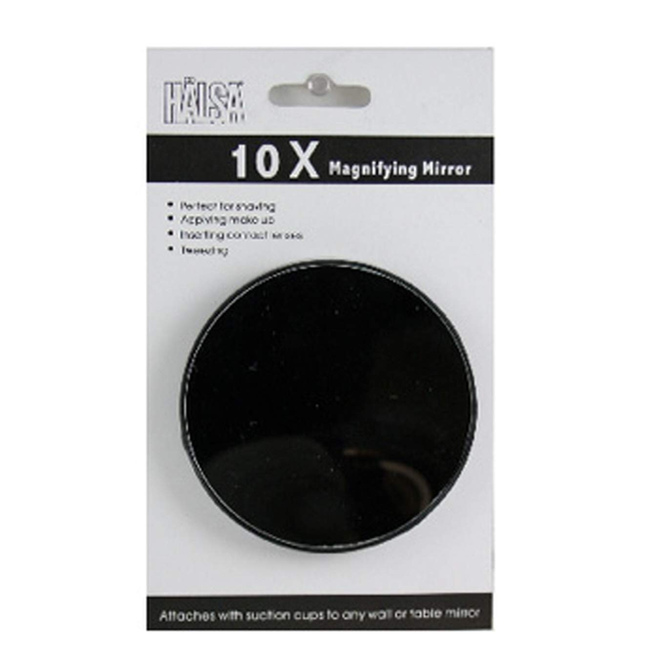Halsa (Pack of 64) Mirror Magnifying, 10x Zoom