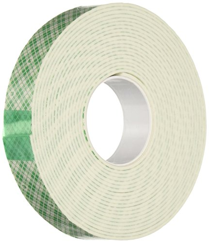 - 3M 4016 Natural Polyurethane Double Coated Foam Tape, 0.75