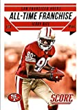 #10: 2015 Score Football Card All-Time Franchise #4 Jerry Rice MINT