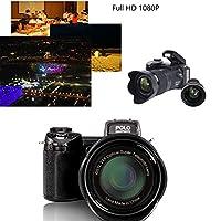 Hanbaili Digital Camera, 33 Million Pixels Auto Focus POLO PROTAX Professional SLR Camera Video Optical Zoom 24X Three lens