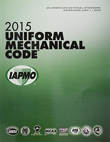 2015 Uniform Mechanical Code Soft Cover w/Tabs International Association of Plumbing and Mechanical Officials