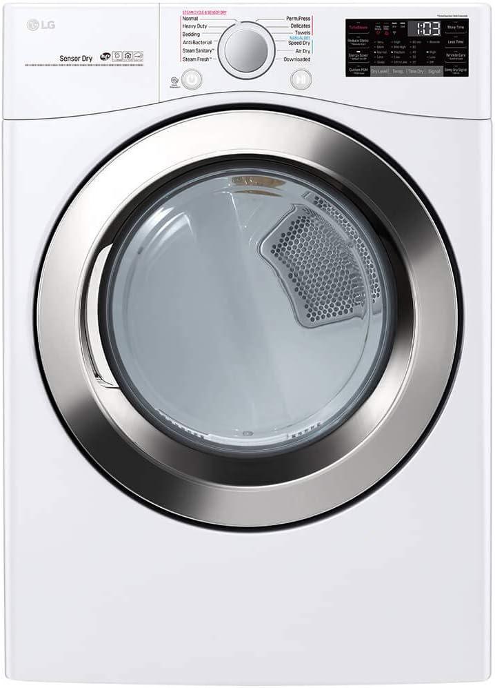 Amazon.com: LG DLGX3701W 7.4 Cu. Secador de gas blanco con ...