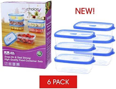 MyChoice Snap-On & Seal: recipientes de alimentos de alta calidad ...