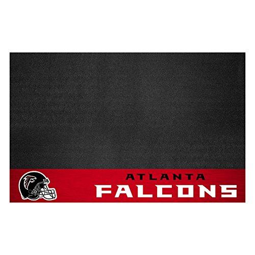 Falcons Mat - Fanmats 12175 NFL Atlanta Falcons Vinyl Grill Mat