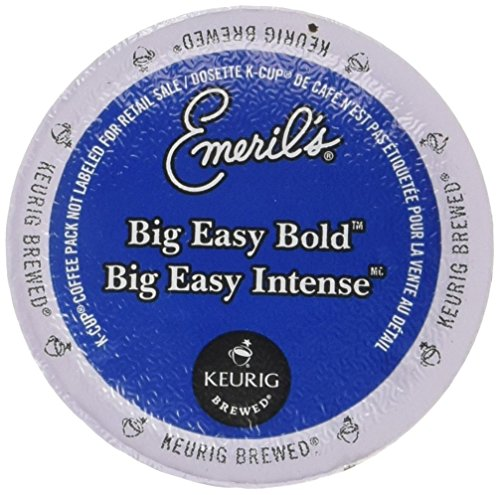 Emeril K-cups (Emeril's Big Easy Bold Single Serve Coffee K-Cups, 48-Count For Brewers)