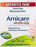 Boiron Arnicare Arthritis, 60 Tablets, Homeopathic Medicince for Arthritis