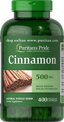 Cheap Puritans Pride Cinnamon 500 Mg