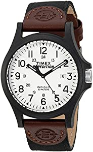 Timex Relógio masculino Expedition Acadia tamanho grande