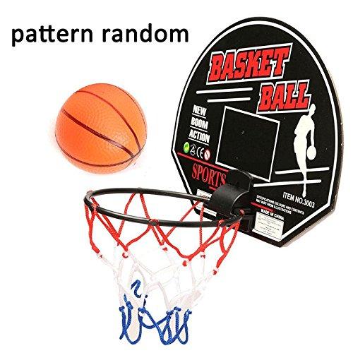 [Kids Sports Mini Basketball Backboard Hoop Net Set Indoor Outdoor Toy W/ Ball] (Buu Costume)