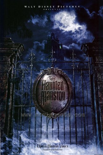 The Haunted Mansion Halloween Poster Movie Canvas Decoration